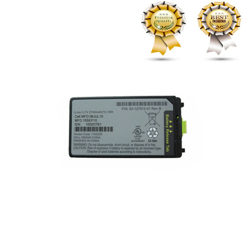 <font><b>Battery</b></font> for Motorola <font><b>MC3090</b></font> MC3000 MC3100 MC3190R Scanner 2740mah 82-127912-01 image
