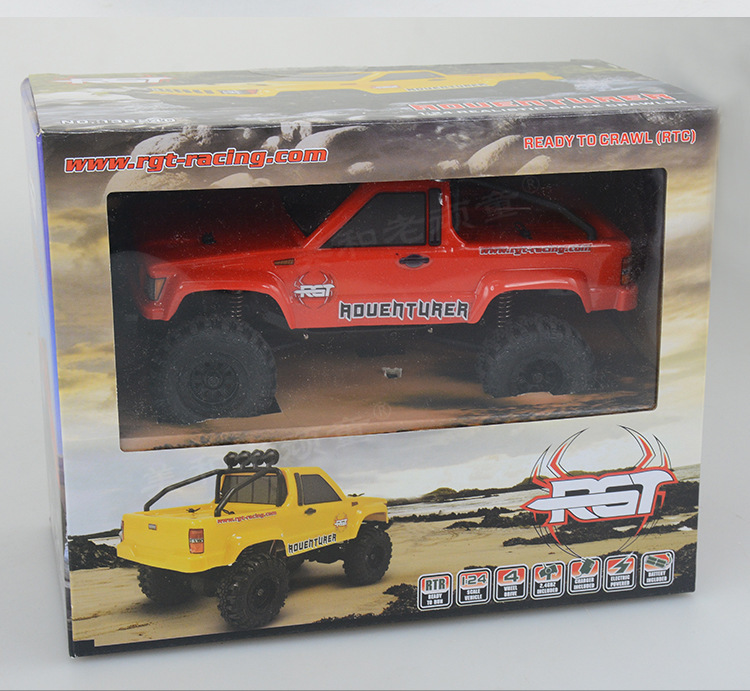 Rgt Ruitai 1/24 Mini Simulation To Climb Off road Vehicle Skin Truck Rtr Adult Alloy Vehicle Model - 4