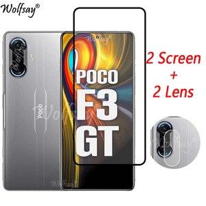 Image 1 - Gehard Glas Voor Xiaomi Poco F3 Gt Screen Protector Voor Xiaomi Poco F3 Gt Camera Glas Voor Xiaomi Poco F3 gt Glas 6.67 Inch