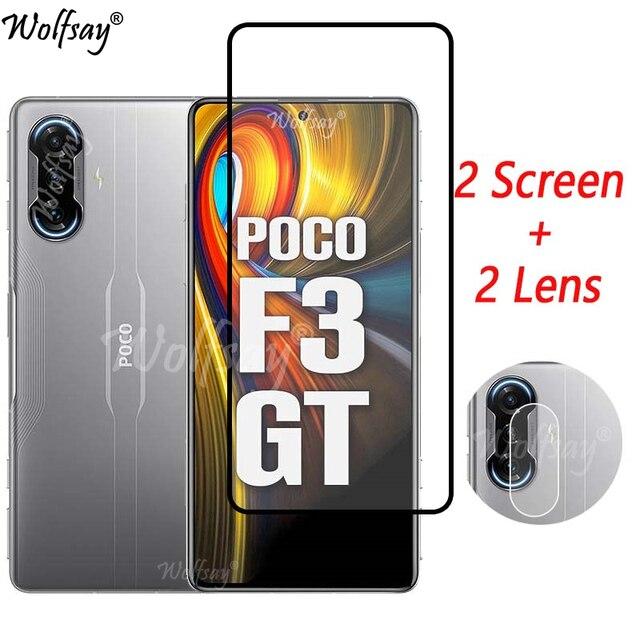 Gehard Glas Voor Xiaomi Poco F3 Gt Screen Protector Voor Xiaomi Poco F3 Gt Camera Glas Voor Xiaomi Poco F3 gt Glas 6.67 Inch