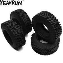 YEAHRU 4 pièces/ensemble 1.9 pouces 98mm pneus 1/10 RC chenille 1.9 pouces OD pneus/pneus pour AXIAL SCX10 D90 Wraith