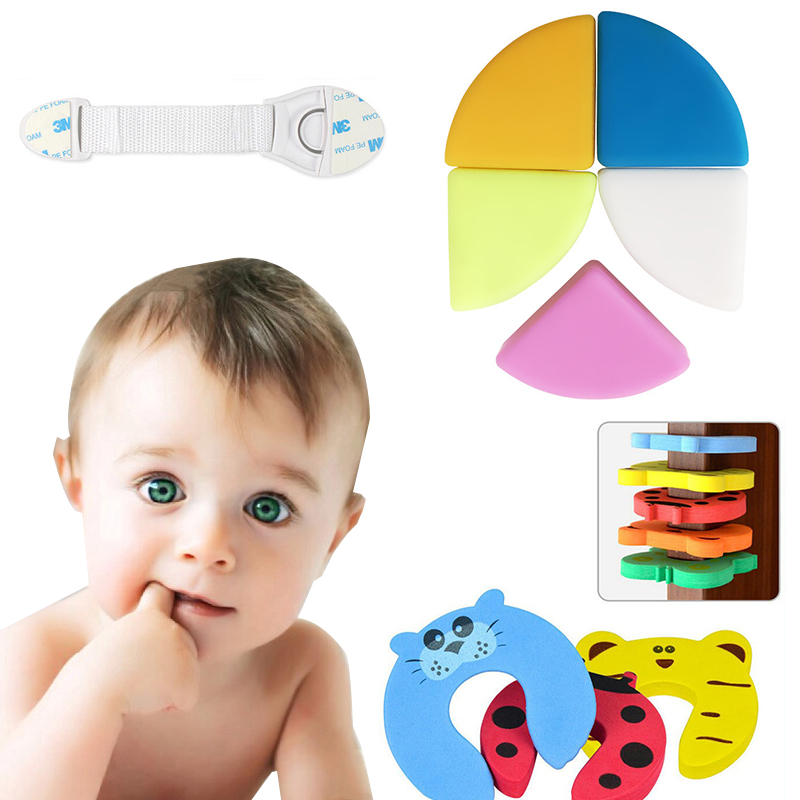 1/5pcs Baby Safety Corner Silicone Baby Corner Protector Children Furniture Corner Protectors Table Edge Guard Safety Protection