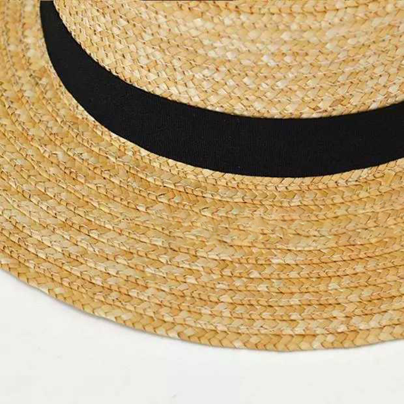 2019 woman 39 s sun hat summer Wide side new fashion wheat Panama sun hat beach hat ribbon bow Seaside style straw hat woman cap in Women 39 s Sun Hats from Apparel Accessories