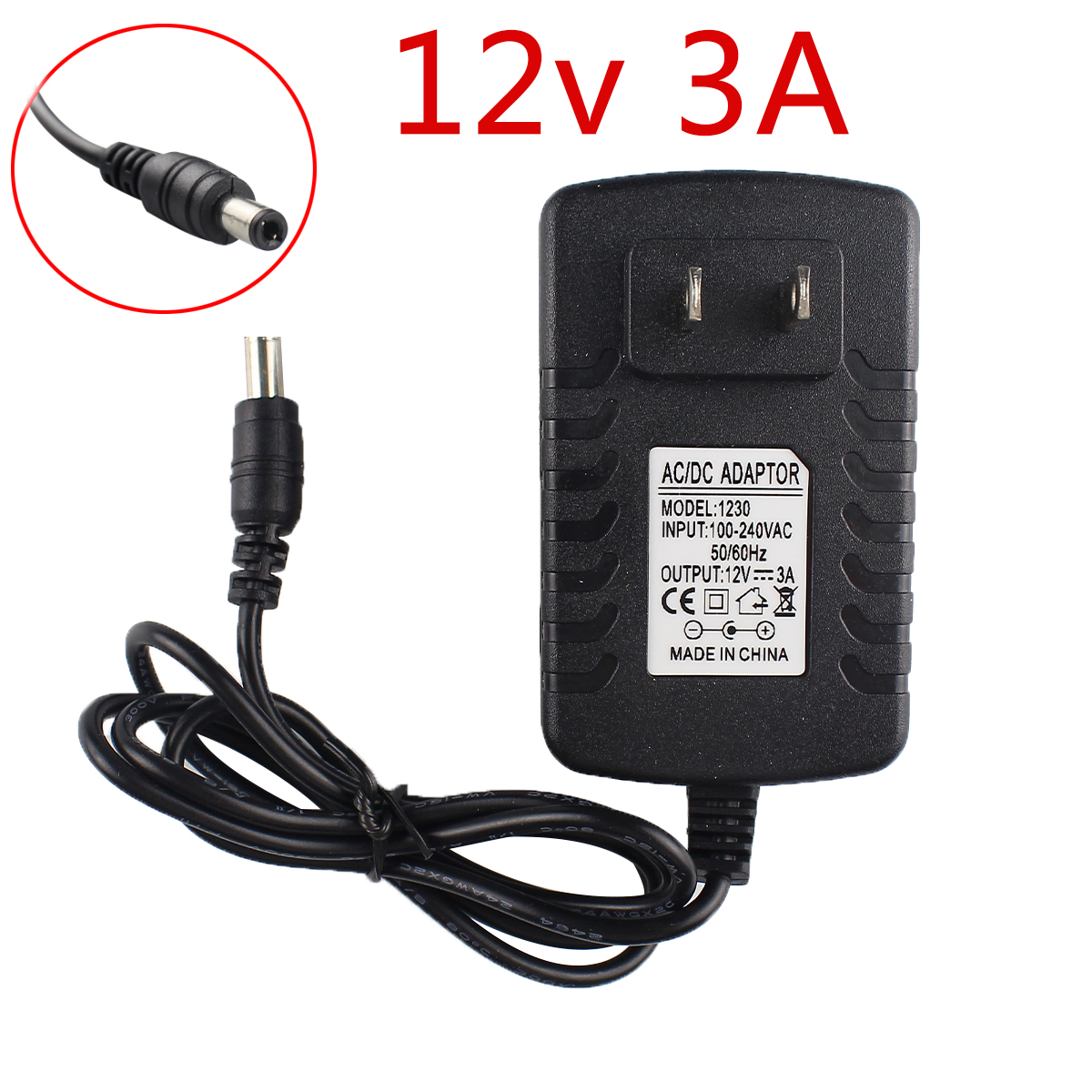 POWER SUPPLY FOR THE YAMAHA DJX IIB MIXER ADAPTER CABLE UK 12V 2A