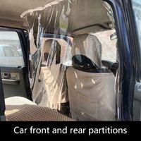 Auto Schutz Partition Bildschirm Taxi Fahrer Cab Isolation Film Transparent Anti droplet Schutzhülle Film Innen-in Ornamente aus Kraftfahrzeuge und Motorräder bei