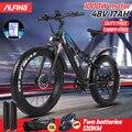 Алфина FX-03plus 1000W Супер мотор 48В 17AH Электрический велосипед горный электрический велосипед MTB 45км/ч 26 дюймов шины Водонепроницаемый Электрич...