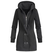 Rosetic Jacket Women Winter Fashion Warm Thick Solid Short Style Cotton padded Parkas Coat Stand Collar
