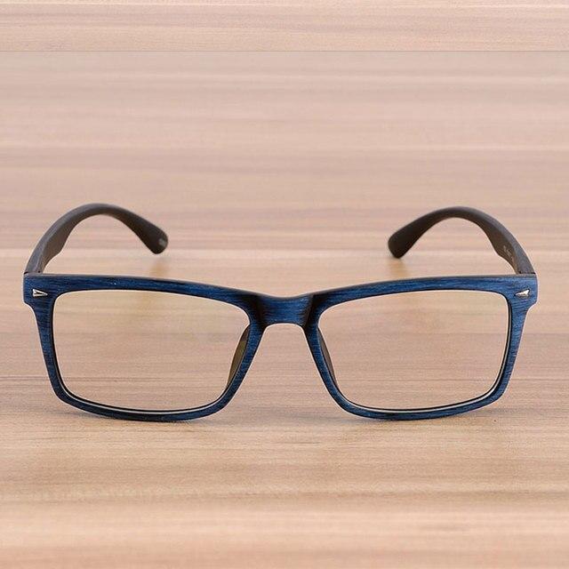 Reven 922 Männer und Frauen Unisex Holz Muster Mode Retro Optische Spektakel Brillen Rahmen Vintage Brillen
