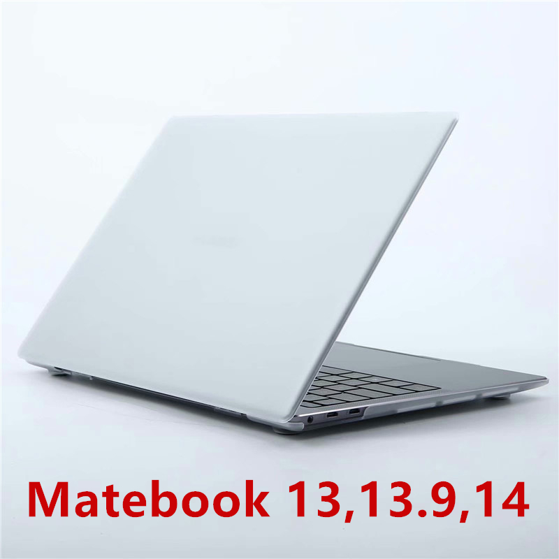 For Huawei Matebook Notebok Case Crystal Transparent Cover For Huawei 13 14 Inch Laptop Shell Case For Matebook X Pro 13.9 Coque