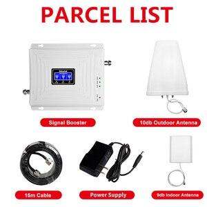 Image 5 - Lintratek אות משחזר 2G 3G 4G GSM 900 LTE 1800Mhz UMTS 2100 Tri בנד נייד Amplifer עם WCDMA DCS סט