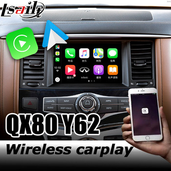 Carplay interface for Infiniti QX80 video interface box with youtube Q50 Q60 QX50 Android auto by Lsailt image