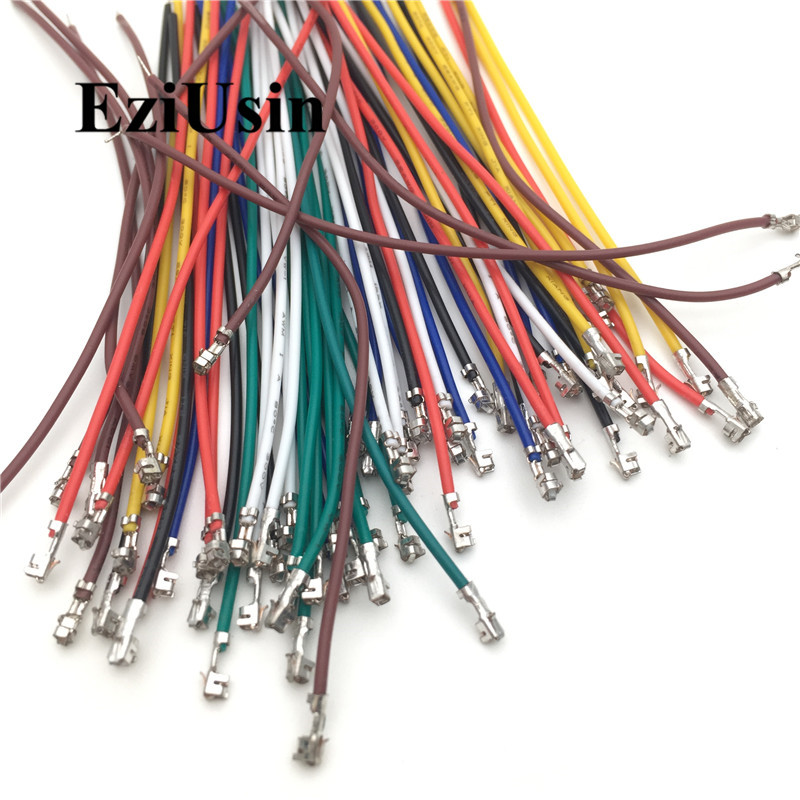 XH2.54 PH2.0 1.5 1.25MM Connector Terminal Wire Electronic Wire Single Head With Terminal 10cm  Without Housing