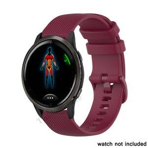 Image 3 - Wrist Strap For Garmin Venu 2 2S SQ Watch Band For Garmin vivomove 3 3S vivoactive 3 4 4S Forerunner 55 158 645 245 Bracelet
