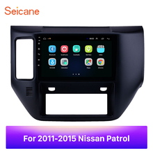 """Seicane For 2011 2012 2013 2014 2015 Nissan Patrol  9"""" 2din Android 8.1 car Radio GPS HD Touchscreen Wifi Car Multimedia player"""