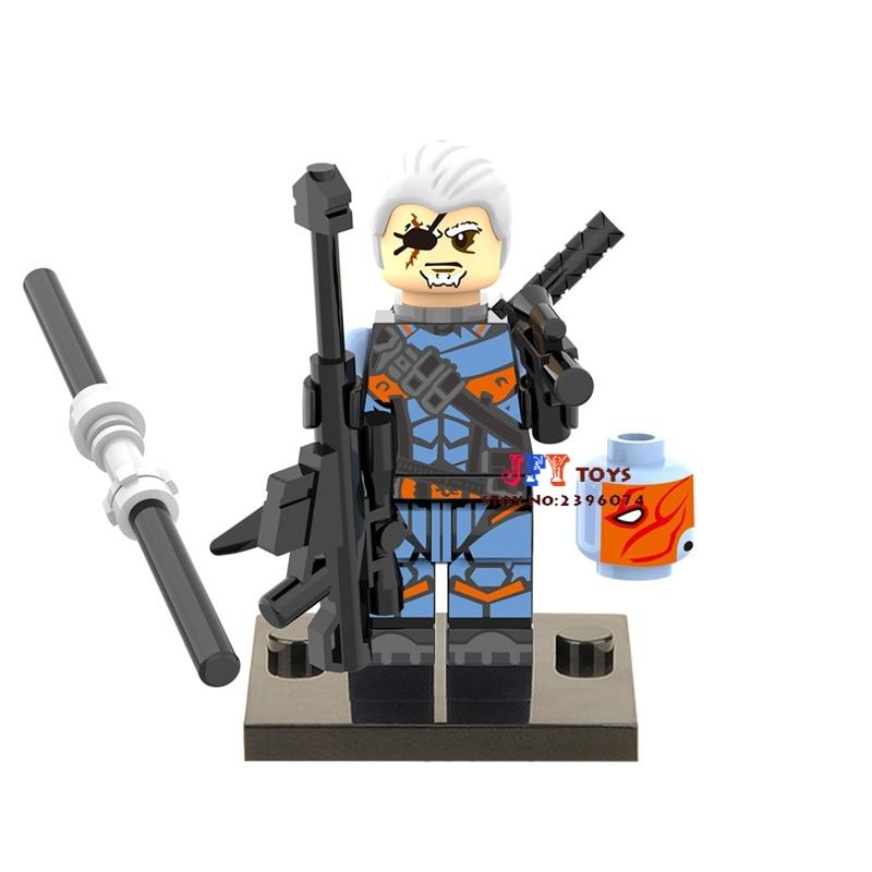Single Sale Superhero Deathstroke Building Blocks Model Bricks Toys For Children Action Figures