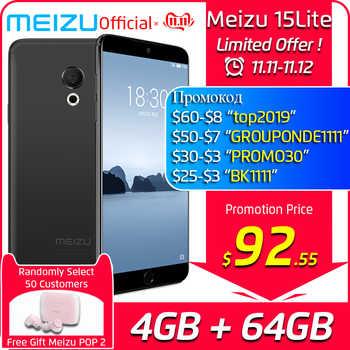 "Global Version Meizu 15 Lite 4GB 32GB 64GB smartphone Snapdragon 626 5.46\"" 1920x1080P 3000mAh Battery Fingerprint - DISCOUNT ITEM  29% OFF Cellphones & Telecommunications"