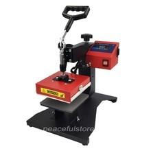 Swing Head Logo Heat Transfer Machine 15*15cm Heat Press Machine For Labling Logo Brand