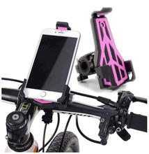 Flexible 3.5-6.5 Phone Holder Mount Bike Bicycle Motorcycle Electric Car Handlebar Cellphone Stand Rack On