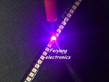 Venta al por mayor 200 Uds UV de TOP 1210 UV 3528 SMD SMT PLCC-2 2500 MCD Ultra brillante LED nuevo