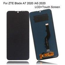원래 ZTE 블레이드 A7 2020 LCD 디스플레이 터치 스크린 디지타이저 어셈블리 디스플레이 ZTE A5 2020 LCD 디스플레이 전화 부품 + 도구