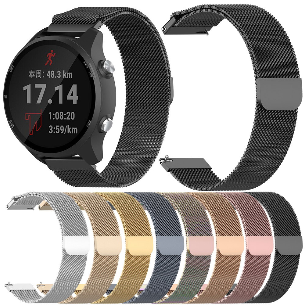 Essidi 20MM Strap For Samsung Galaxy Active 2 40 44mm Milanese Magnetic Smart Bracelt Band For Samsung Galaxy Active 40mm Watch