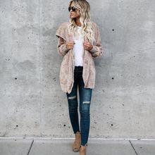 2020 толстовка женская куртка пальто Повседневная Мягкая флисовая