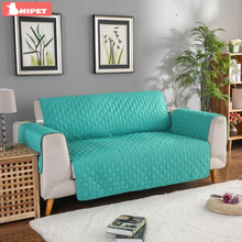Waterproof Pet Sofa Couch Cover Removable Dog Kids Mat Furniture Protector Reversible Washable Armrest Couch Sofa Slipcover slowdream nordic deer sofa cover assemble sofa for living room removable stretch elastic band home seat decorative slipcover