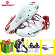 Sidebike-zapatos de Ciclismo de carretera para hombre y mujer, zapatillas antideslizantes resistentes al desgaste