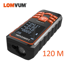 LOMVUM 120M Laser Rangefinder LV 66U Handhold Digital Laser Distance Meter Electrical Level Tape Laser Distance Measurer