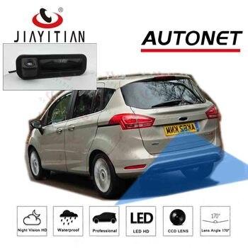 JIAYITIAN Car Trunk Handle Camera For Ford B-Max Bmax 2012 2013 2014 2015 2016 2017 CCD backup camera rear view Parking Camera