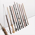 24 Styles Wand Adult Magic Stage Props Metal Core Toys Halloween Christmas Party Gifts Children's Role Playing