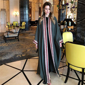 Image 3 - Casaco kimono longo bordado, transparente, branco, de chiffon, túnica plus size, blusa e blusas femininas n1038, 2020