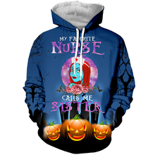 LBG new 3D printing nightmare Christmas hoodie, grotesque urban night men and women fashion casual hoodie Harajuku hoodie.