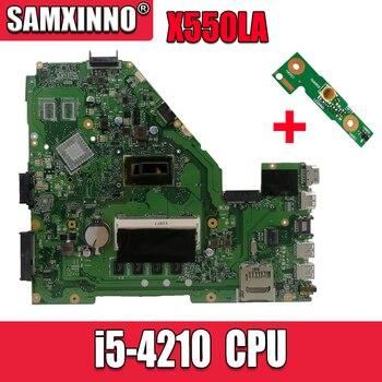 X550LA Motherboard i5-4210-REV:2.0 For Asus A550L A550LN R510L X550LD laptop Motherboard X550LA Mainboard X550LA Motherboard