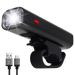 Bike Light Rainproof USB Recha