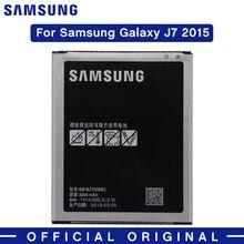 цена на Samsung Original Battery EB-BJ700BBC EB-BJ700CBE 3000mAh For Samsung Galaxy J7 2015 J4 2018 J7000 SM-J701F/DS SM-J700M J700H NFC