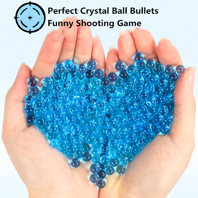 11-13mm 10000pcs/bag Paintball For Shooting Game CS War Toys Gel <font><b>Ball</b></font> Bullets Soft Crystal Water Gun Water Grow Beads <font><b>BBS</b></font> image