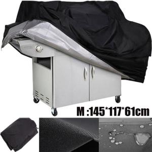 Image 5 - 1PC BBQ Grill Cover Waterproof Heavy Duty Patio Outdoor Oxford Barbecue Smoker Grill Cover Outdoor Barbecue Hood