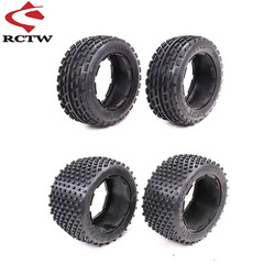 Off-road Front or Rear Tyres Skin Set for 1/5 HPI ROFUN BAHA ROVAN KM Baja 5B SS Truck Spare Toys Parts