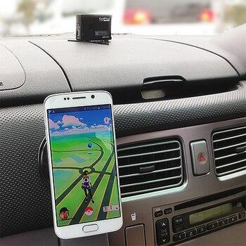 Alfombrillas de Gel adhesivas mágicas, alfombrillas de coche universales para teléfono en el coche, alfombrilla antideslizante de silicona, accesorios antideslizantes para el Panel del coche