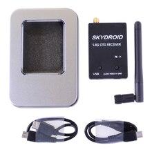 2019 Skydroid UVC tek kontrol Mini FPV alıcısı OTG 5.8G 150CH kanallı Video iletim Downlink ses Android telefon için