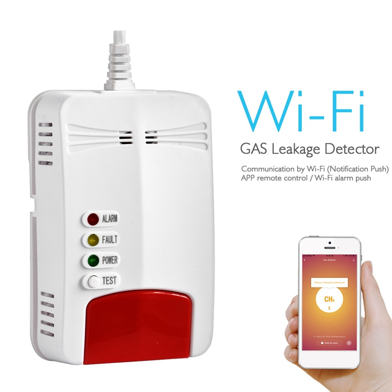 Novo wifi sensor de gás detector de