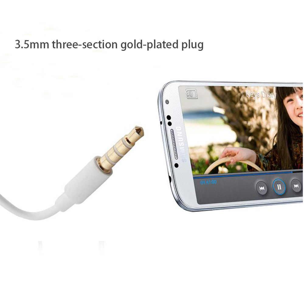 Słuchawki EHS64 zestawy słuchawkowe z wbudowany mikrofon 3.5mm douszne słuchawki przewodowe słuchawki do Samsunga A3 A5 A7 J2 Pro J5 J7 J9 smartfonów