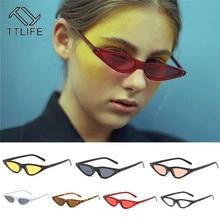 TTLIFE 2019 Mirror Street Beat Sunglasses Women Vintage Glasses Lady Driving Uv400 Men Red Cat Eye Oculos De Sol