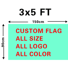 90x150 см пользовательский флаг Прямая поставка 3x5ft полиэфирная цифровая печать баннер