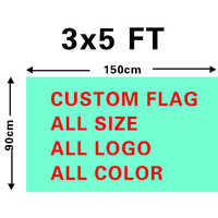 Wholesale 90x150cm Custom Flag Drop Ship 3x5ft Polyester Digital Print Banner