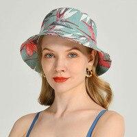 Sombrero de pescador de algodón con protección solar para mujer, gorro de pescador con protección solar, para playa y exteriores, Unisex