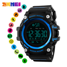 цены SKMEI Bluetooth Men Smartwatch Sleep Tracker Pedometer Message Call Reminder Waterproof Smart Watch Wristwatch For Android IOS
