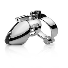 Chastity-Device Cock Cage Game Penis-Sleeve Steel Adult Male Padlock Sex-Toys CB6000S