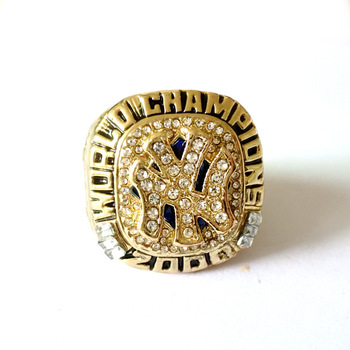 2000 New York Yankees Baseball Gold Championship Fans Championship Ring фото
